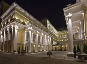 The State Hermitage Official Hotel Main Entrance