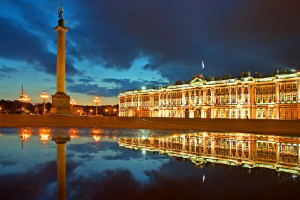 The State Hermitage Museum and Alexander Column