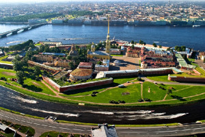 Peter and Paul Fortress in St Petersburg
