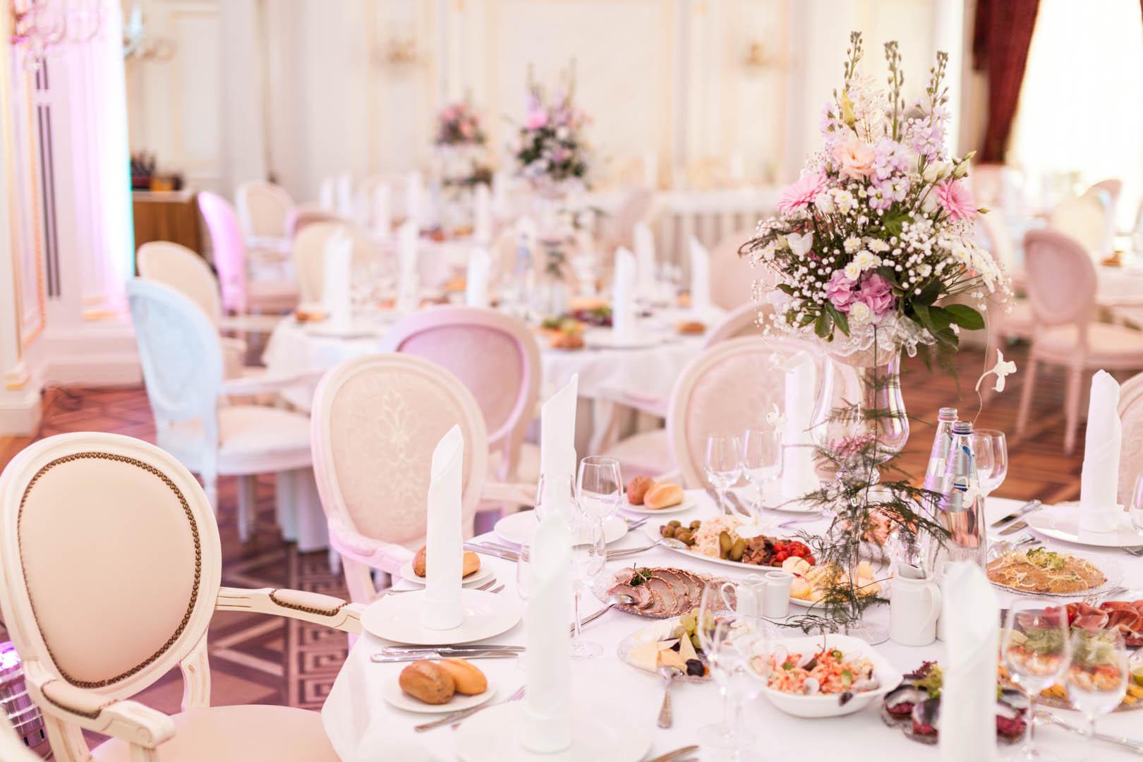 Банкетный зал Росси для свадьбы