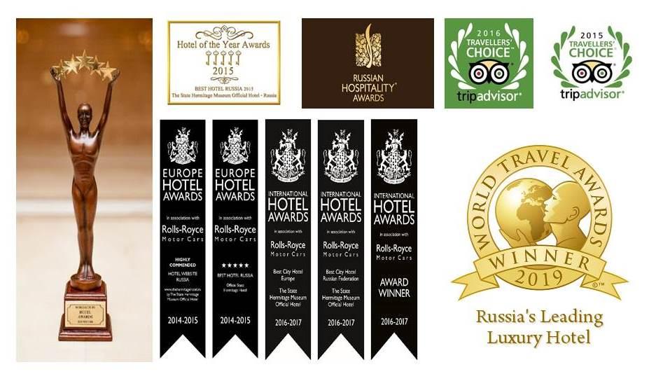 Hermitage hotel awards
